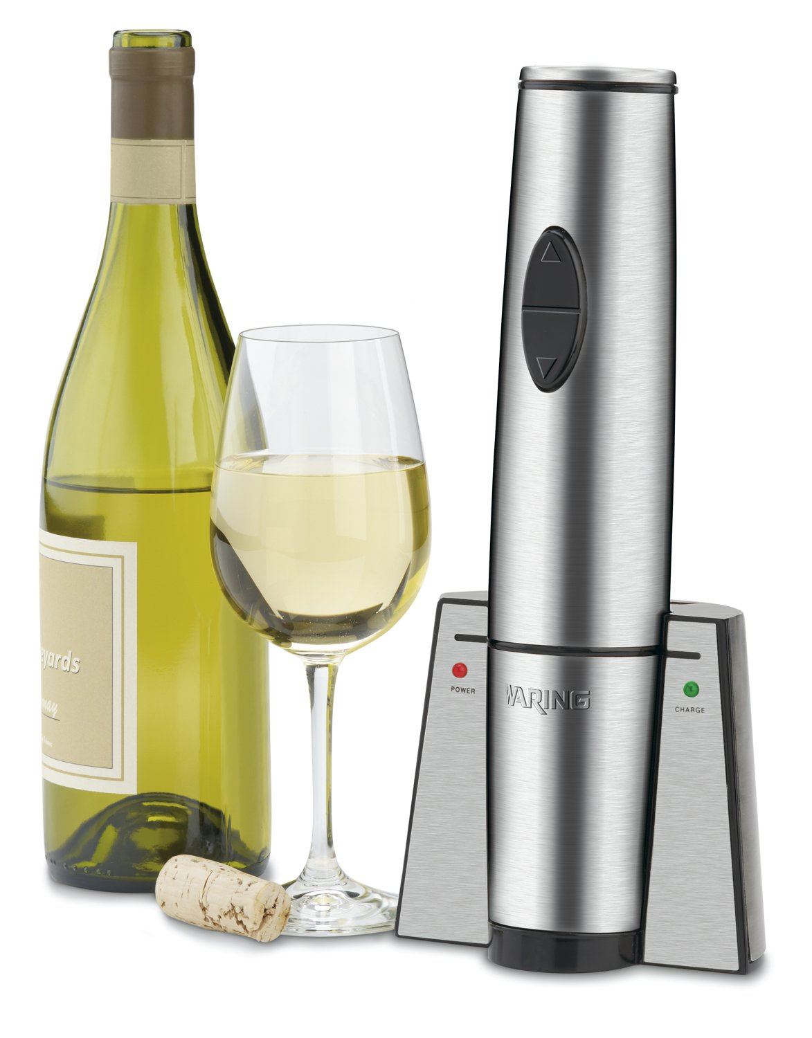 Waring Commercial WWO120 Portable Electric Wine Bottle Opener with Recharging Station by Waring (Image #6)