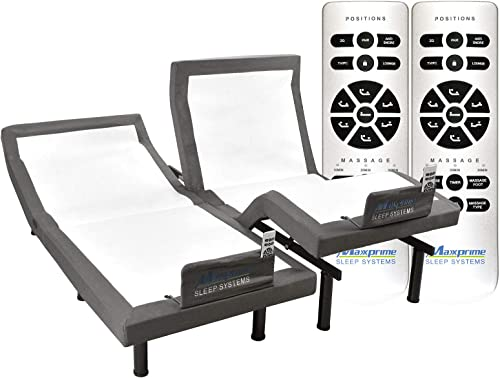 MAXXPRIME Adjustable Bed Frame