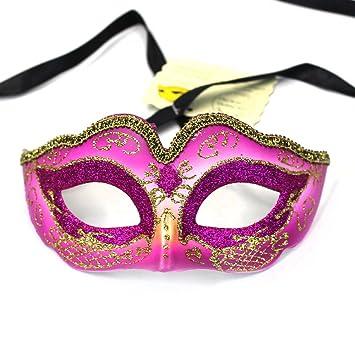 Máscara veneciana de Lenhart, máscara de baile, diseño de princesa Coxeer, máscara de