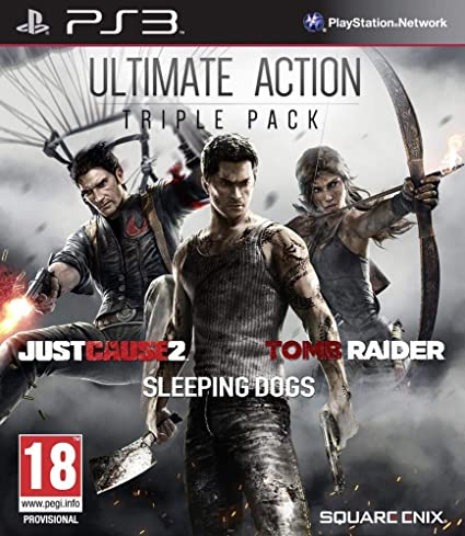 Square Enix Ultimate Action Triple Pack PS3 Ultimate PlayStation 3 ...