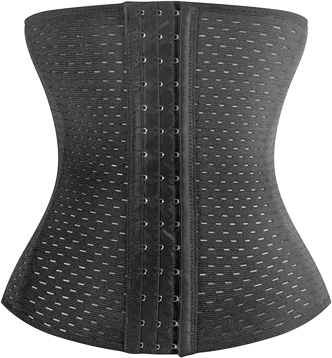 KSKshape Waist Trainer Corset for Weight Loss Breathable Shapewear Back Support Girdle