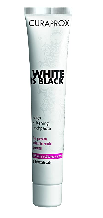Curaprox White is Black Pasta Dentífrica 90 ml