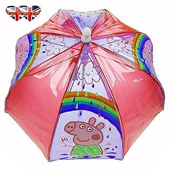 Original paraguas de cúpula de Peppa Pig
