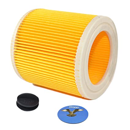Hqrp Cartridge Filter For Karcher Wd 2 200 Wd 2 210 Wd