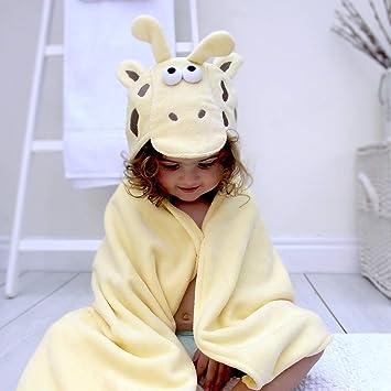 Bathing Bunnies Giraffe Baby Toddler Hooded Towel Light Yellow ... 5fc260360