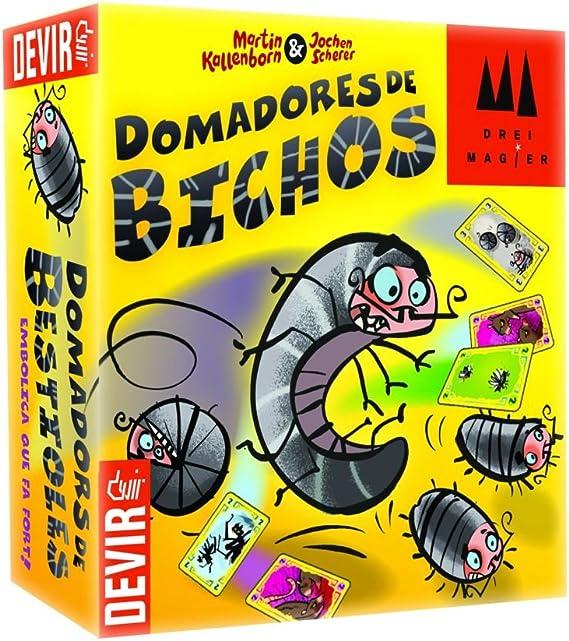 Devir-47983 Juego de Tablero domadores de bichos, única (222661): Amazon.es: Juguetes y juegos