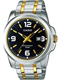 Casio Enticer Analog Black Dial Men's Watch - MTP-1314SG-1AVDF (A777)