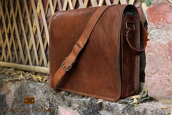27b4c2cbf8af Leather Native Crossbody Full Flap bag 13