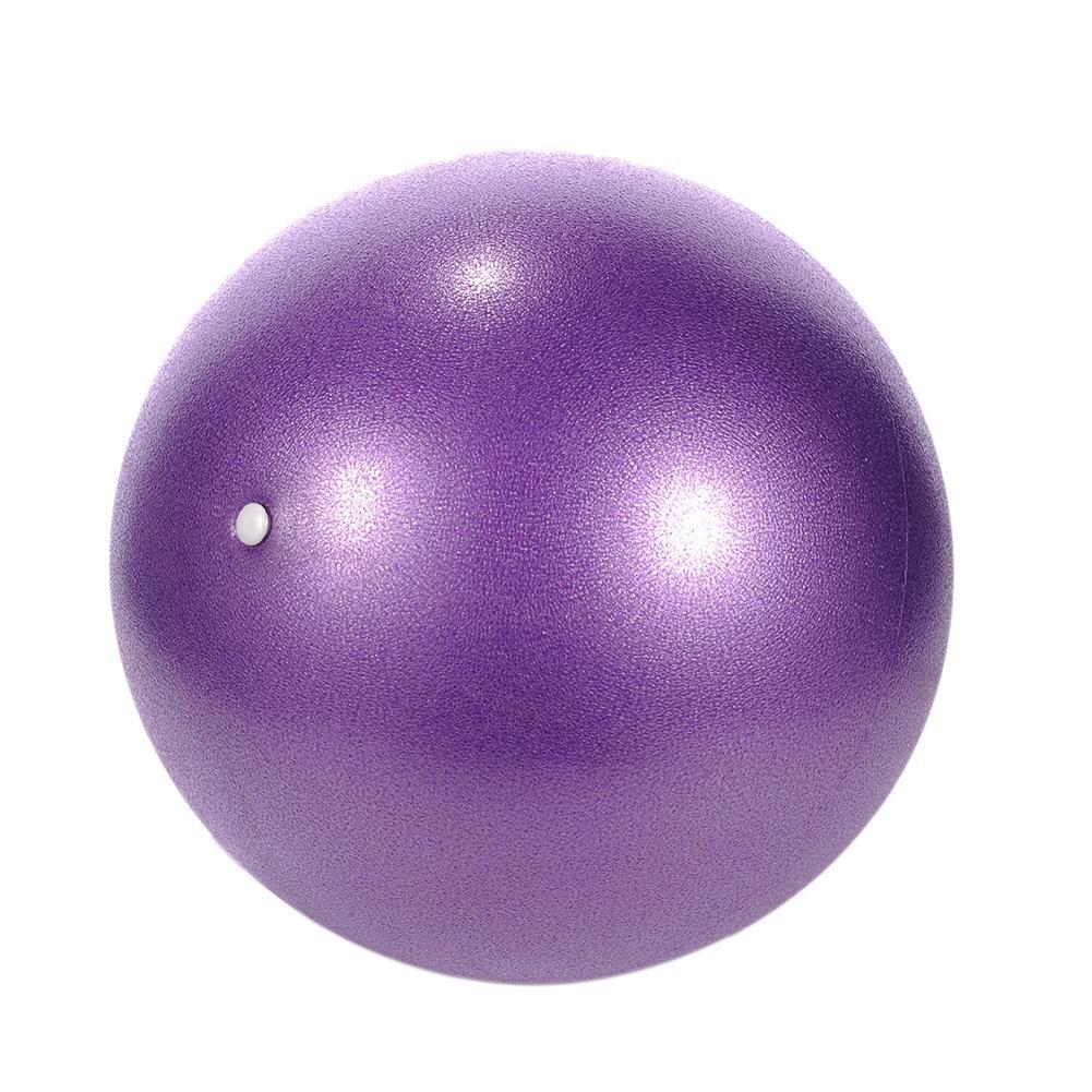 Fancylande Pallone Palestra Fitness Svizzera epais Esercizio di yoga palestra stabilità Anti-Explosion con pompa a mano–Design di qualità professionale anti-eclatement Violet