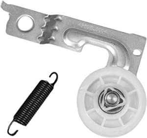 4561EL3002A Dryer Motor Idler Pulley Assembly with Spring for LG & Kenmore Dryer. Replace 4560EL3001A, 4561EL3002B, 1267530, AP4438243, EAP3523033, PS3523033