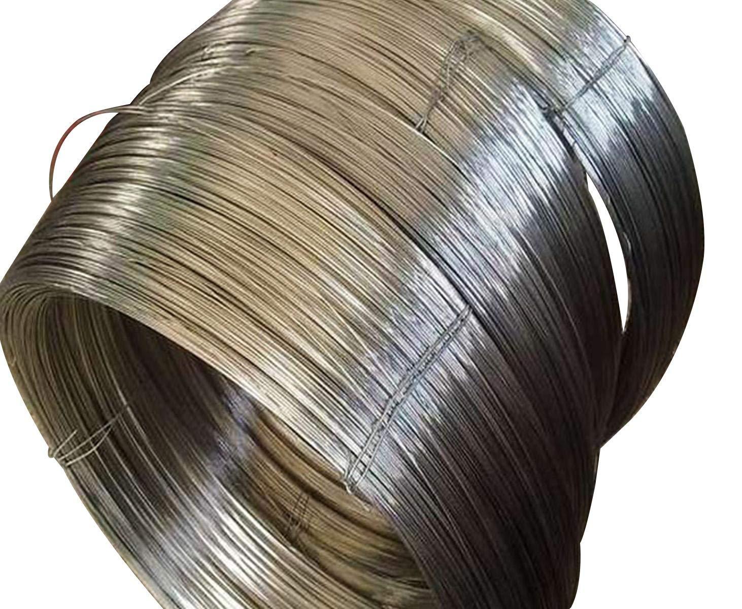 Diameter 1.5mm Length 6 meter/20 feet Pure Titanium Ti Wire Grade 3 by Yodaoke
