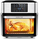 10-in-1 Air Fryer Oven, 20 Quart Airfryer Toaster Oven Combo, 1800W Large Air Fryers, Convection Toaster Oven with Rotisserie