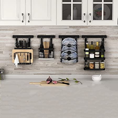 WMR Kitchen Shelves/Wall-mounted/Punch-free/Stainless Steel ...