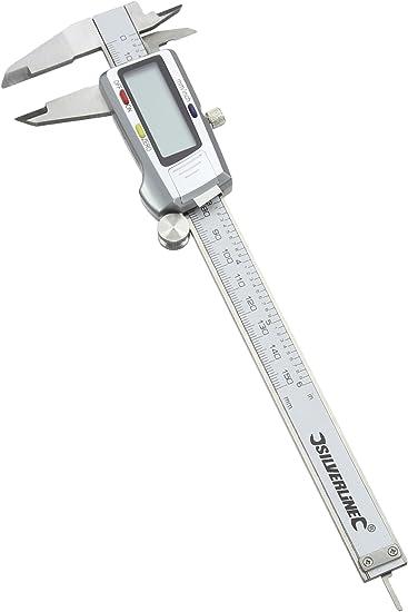 Silverline Digital Vernier Expert Caliper 200mm Mechanical Engineering Tool