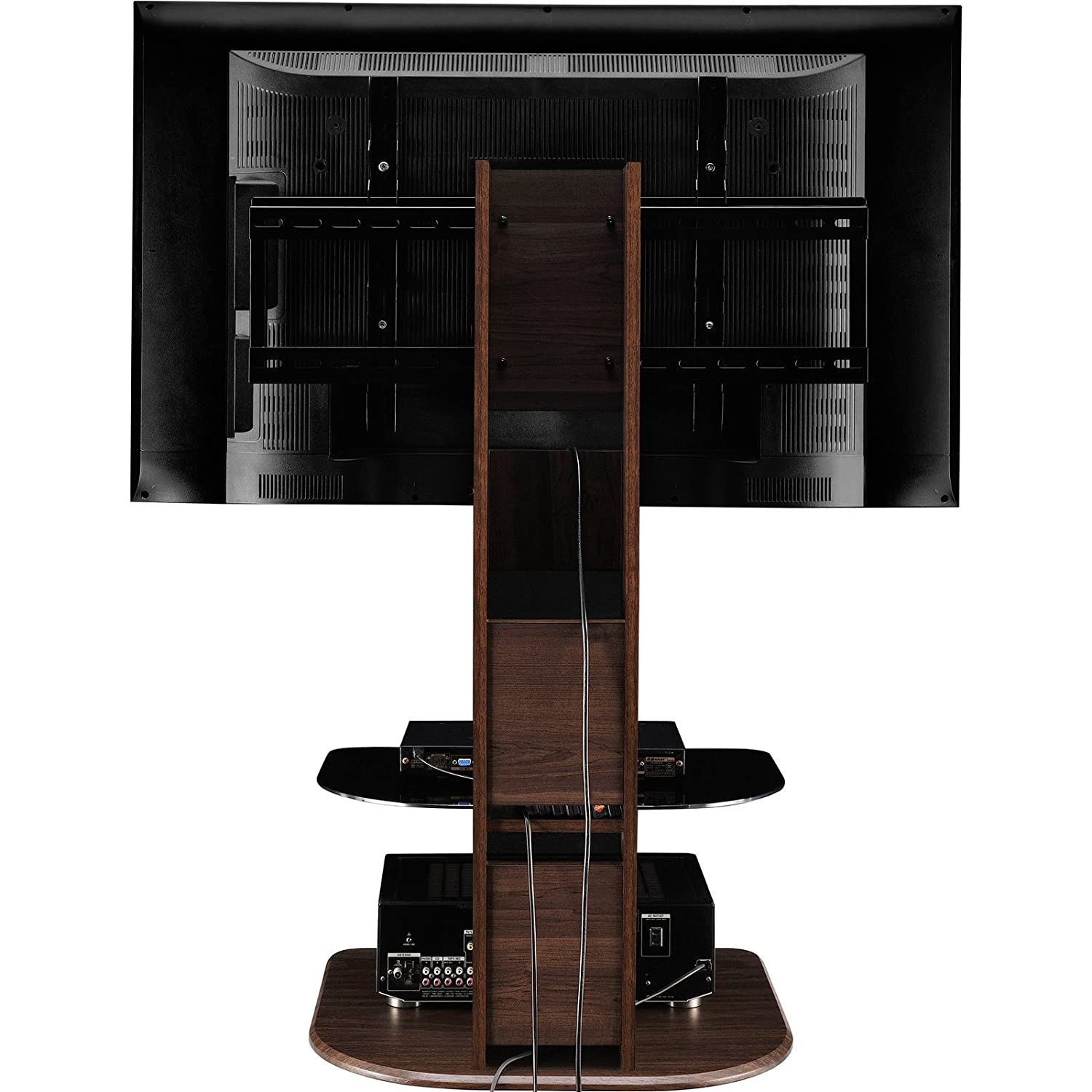 Tv Stands For 50 Flat Screens Amazoncom Altra Galaxy Tv Stand With Mount For Tvs Up To 50