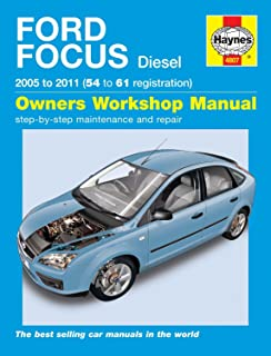 ford focus petrol diesel 11 14 haynes repair manual anon rh amazon co uk Focus 2014 Manual Ford Hatchbackrepair haynes manual ford focus diesel 2010