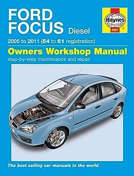 Haynes Manual Ford Focus Diesel 2005 To 2011 54 To 61 Reg