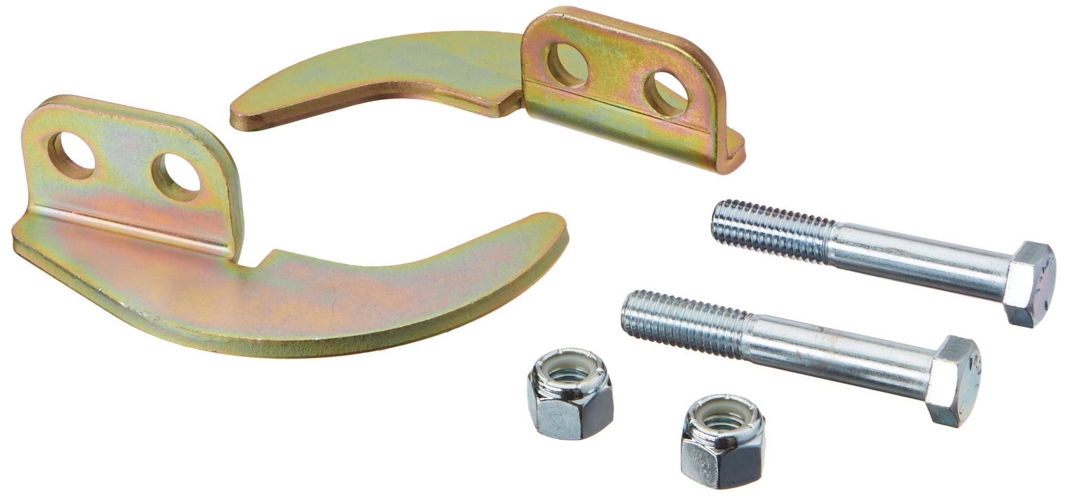 3M DBI-SALA SecuraSpan 7400008 Horizontal Lifeline Component, InterMediumiate Bypass Bracket Fit for I-Beam Stanchion, Zinc Plated Steel