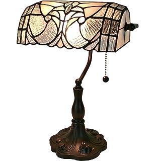 Amora lighting am1035tl14 tiffany style dragonfly table lamp 2 amora lighting tiffany style am250tl10 floral banker tiffany style table lamp 13 in aloadofball Choice Image