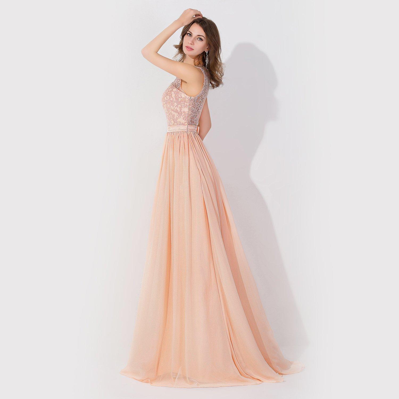 ca0cfcae2 Imágenes de Babyonline Lace Backless Long Formal Evening Prom ...
