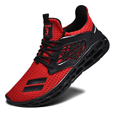 RELANCE Men's Running Shoes, Lightweight Casual Sneakers Workout Sport Athletic Shoes for Training Tennis Jogging Footwear | Running