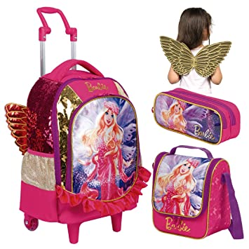 341a439ac Kit Mochila Infantil Barbie Dreamtopia Lancheira Estojo Sestini ...
