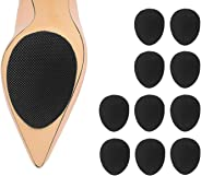 Non-Slip Noise Reduction Shoes Pads (5 Pairs) ,Self-Adhesive Anti-Slip Stick Pad for Shoes Upgraded Skid Proof Sole Stick Pr