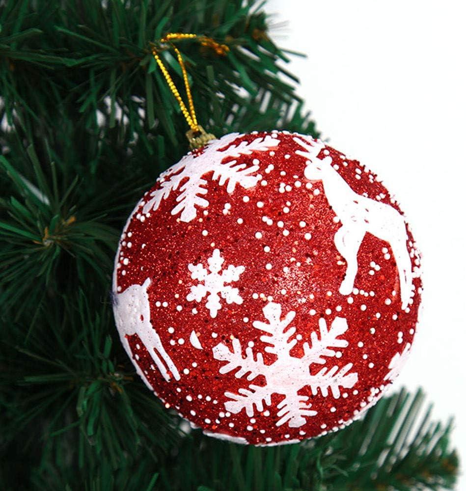 12pcs Christmas Tree Xmas Balls Decorations Baubles Party Wedding Ornament OJ