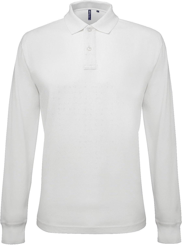 Asquith Fox - Polo - para Hombre Blanco Blanco Medium: Amazon.es ...