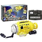 """SpyCam Aqua, Remote Control Toy Submarine with Camera and LED Light, 4.4"""""""