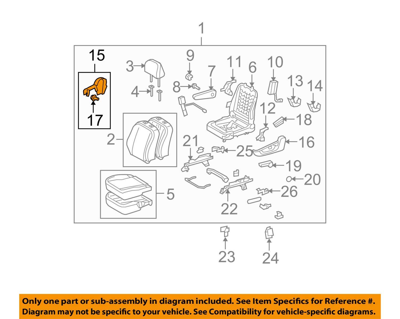 TOYOTA Genuine 71862-12330-B0 Seat Cushion Shield