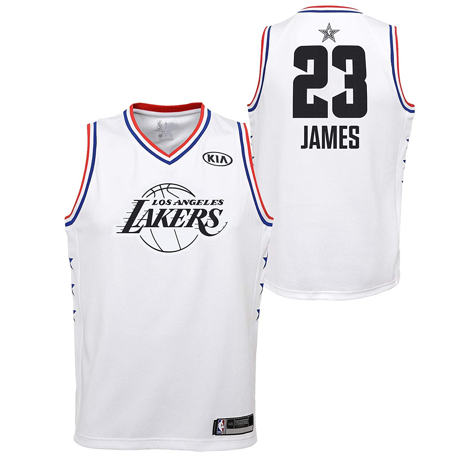new product bbf8f 281fa Amazon.com : Outerstuff Youth 2019 NBA All-Star Game Lebron ...