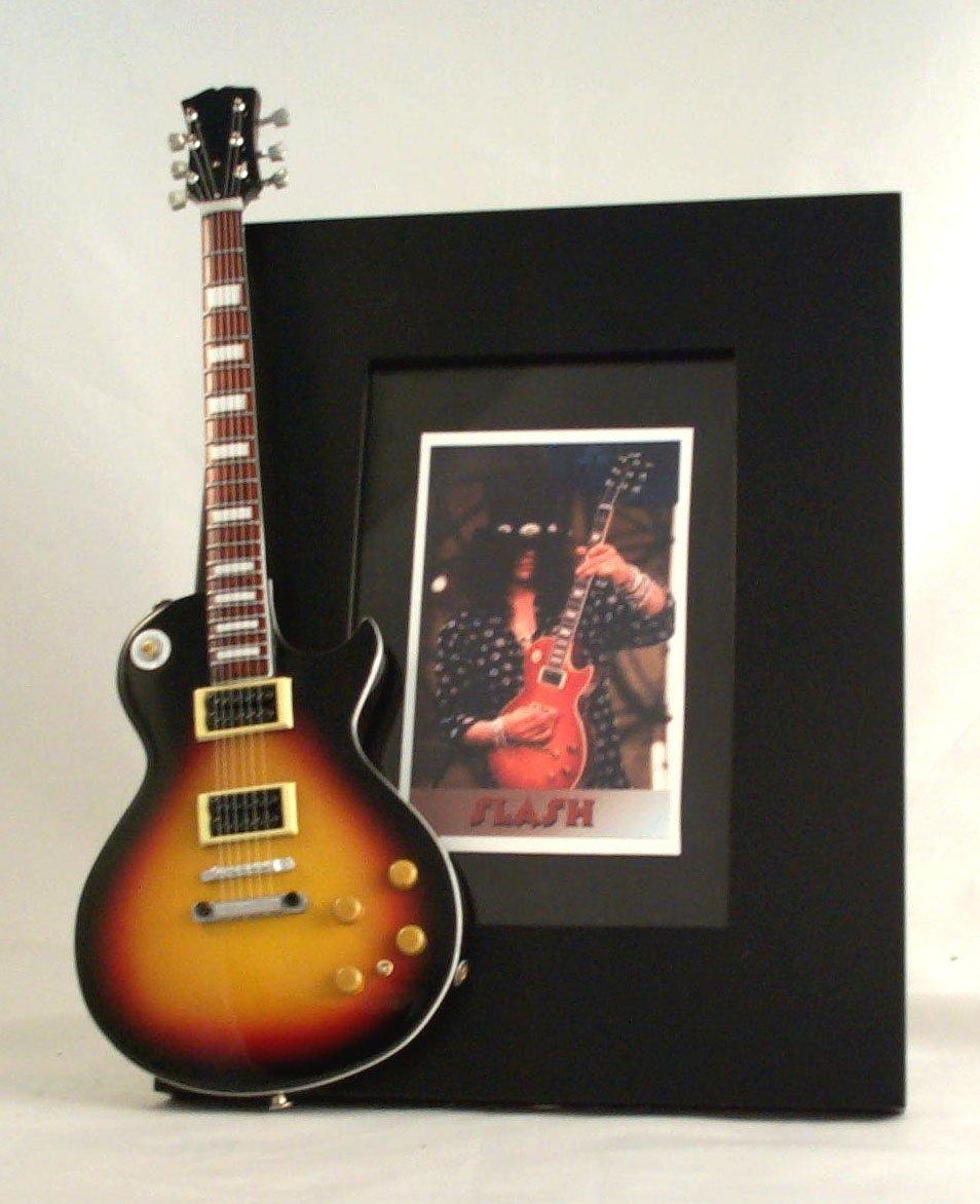 Slash guitarra en miniatura marco de fotos de Guns N Roses: Amazon.es: Instrumentos musicales