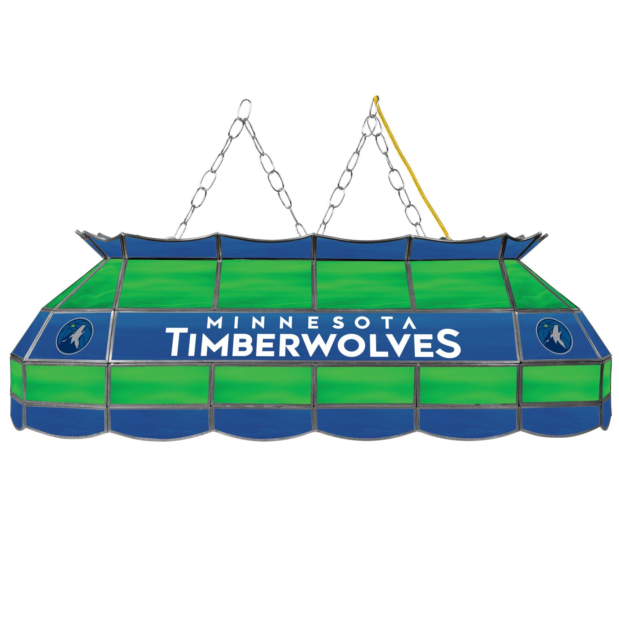 NBA Minnesota Timberwolves Tiffany Gameroom Lamp, 40''