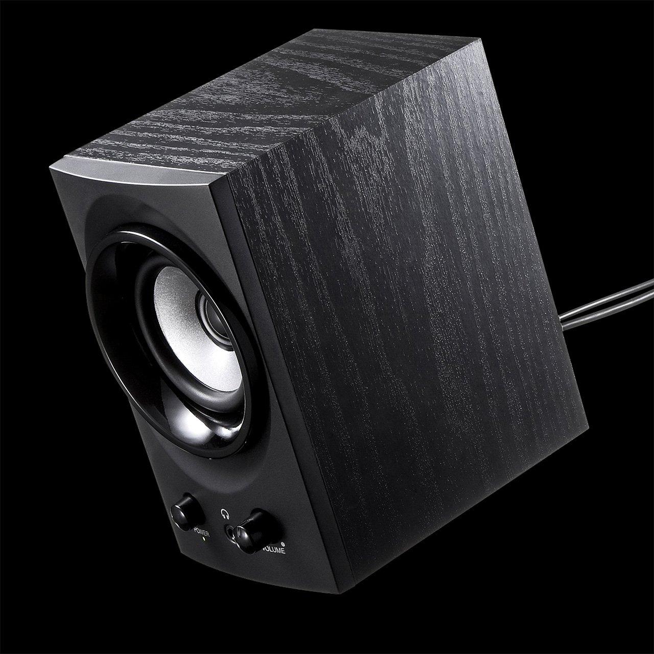 SANWA SUPPLY high-power USB speaker MM-SPU9BK (Black) by Sanwa (Image #7)