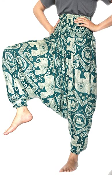 exceptional range of styles distinctive design special buy Harem Yoga Pants Dance Gypsy mc Hammer Pants For Men And Women Size 0-14 US
