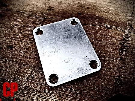 ステンレス製 ネックジョイントプレート レリック 2.5mm ストラト・テレキャス等に 新品 オーステナイト系 SUS304 Creatifinity Parts製品 CS-NP1