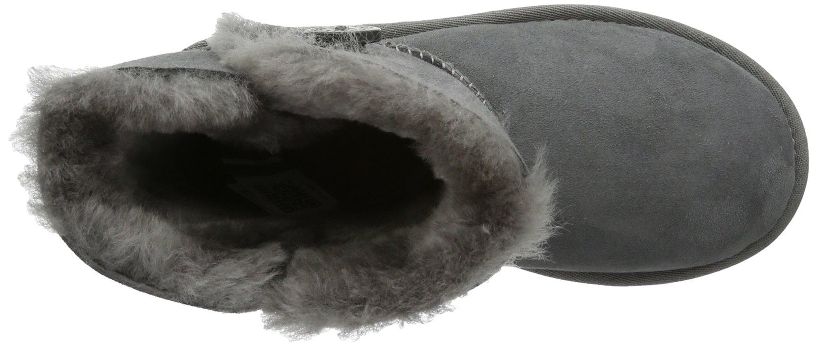 Ugg Australia Bailey Button Girls' Boots, gris (Grigio (grey)), 9 UK Child by UGG (Image #7)