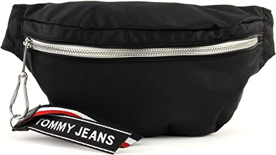 Tommy Hilfiger Tommy Jeans Logo Bumbag Black: Amazon.es: Ropa y accesorios