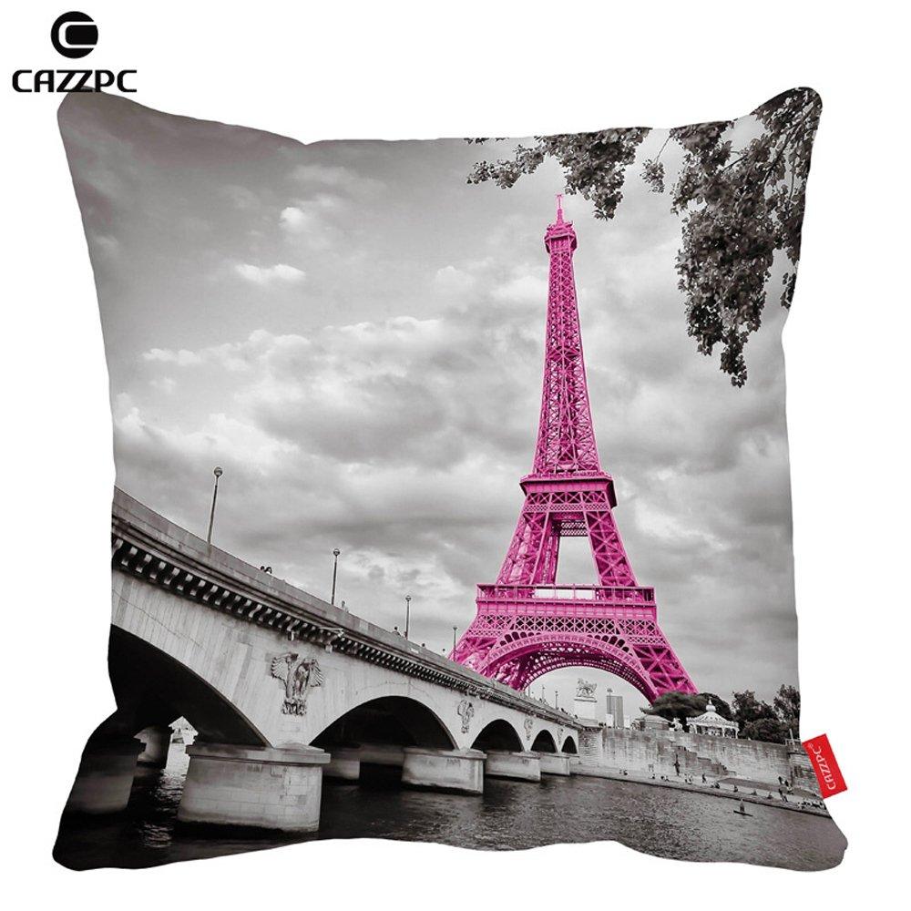 As Creation Pink Paris Pattern Eiffel Tower Childrens: Pink Paris Decor: Amazon.com