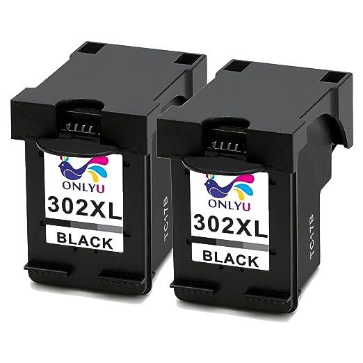 7 opinioni per ONLYU 2-Pack Compatibile HP 302XL 302 XL Cartuccia inchiostro per HP Envy 4520