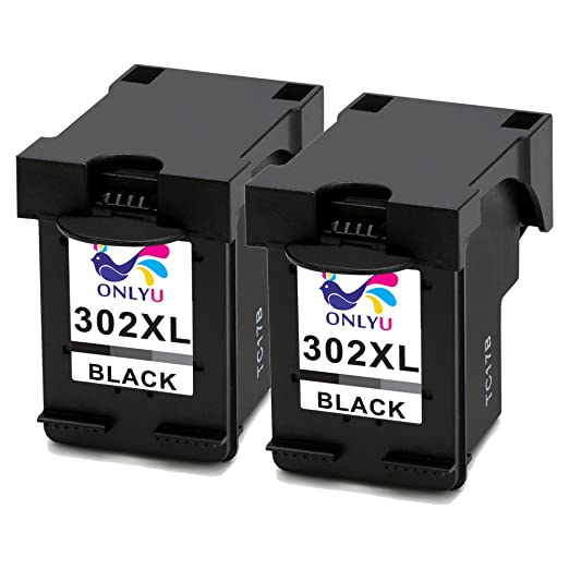 7 opinioni per ONLYU 2-Pack Compatibile HP 302XL 302 XL