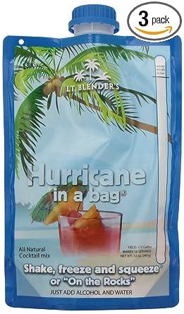 lt. Licuadora de huracán en una bolsa, 12-Ounce bolsas (3 ...