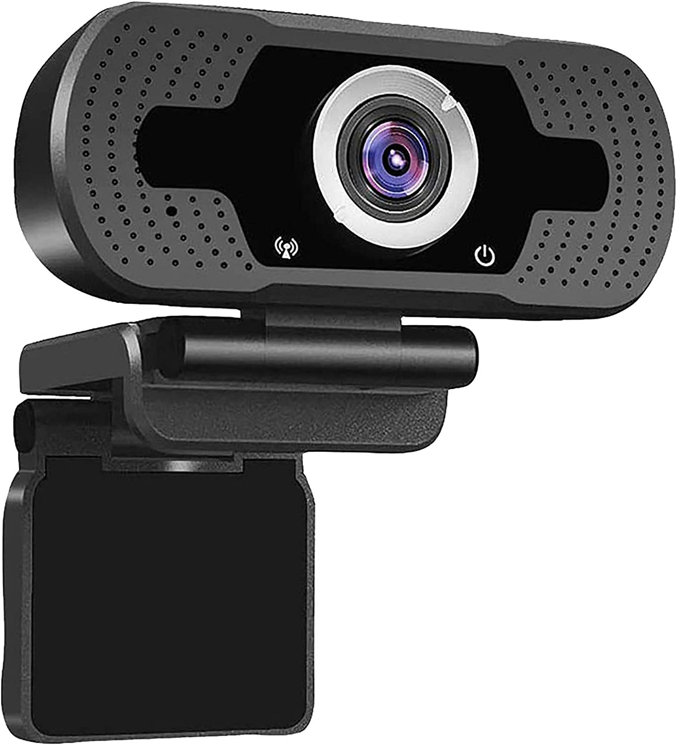for Video Calling Recording and Conferencing Autofocus Streaming Web Camera for Computer and Laptop Webcam,Full HD 1080P Webcam with Built-in Noise-Reduction Microphone 110 Degree USB PC Web Cam