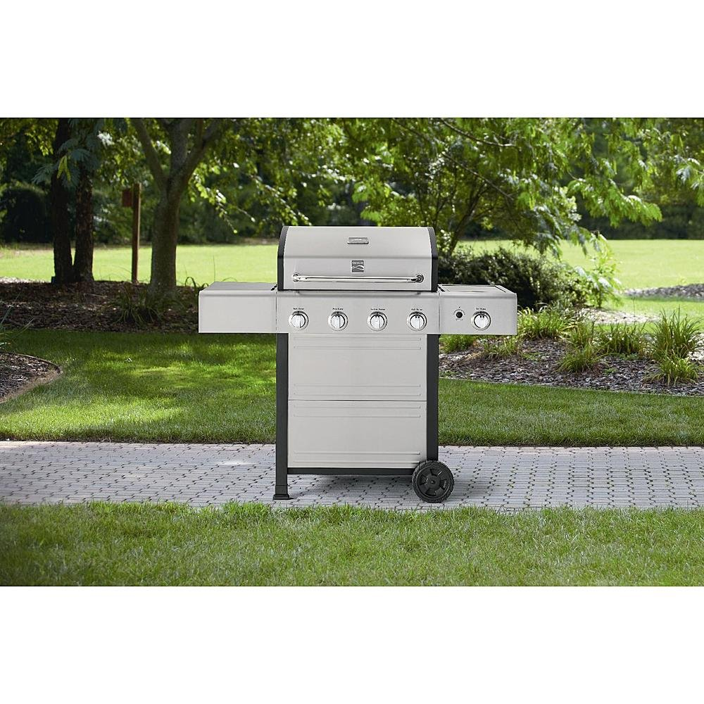 kenmore bbq. amazon.com: kenmore 4 burner gas grill with stainless steel lid: garden \u0026 outdoor bbq n
