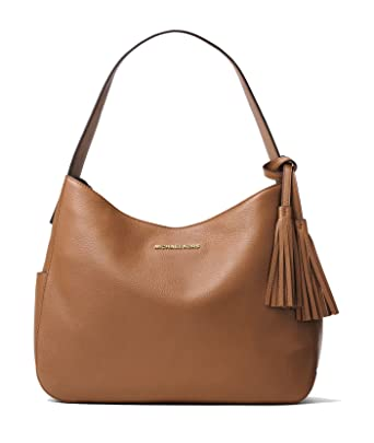 01b23aaea07d MICHAEL Michael Kors Ashbury Large Leather Shoulder Bag in Acorn   Amazon.co.uk  Clothing