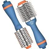Longorange Ion Titanium Hair Dryer Brush Blow Dryer Brush Professional Blowout Hot Air Brush for Women,3 Inch Oval Shape