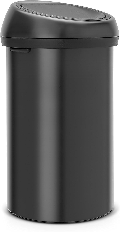 Brabantia 60 Litre Touch Bin - Matt Black