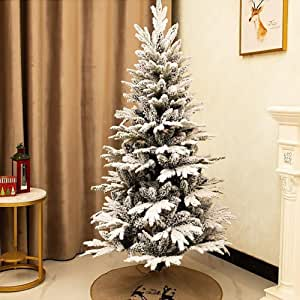 Snowy Christmas Tree Artificial Fir Pe Kingswood with ...