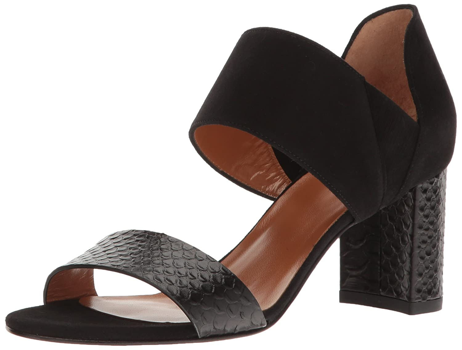 Aquatalia by Marvin K.. Women's Suzanne Dress Sandal B01M6USQL6 8 B(M) US|Black